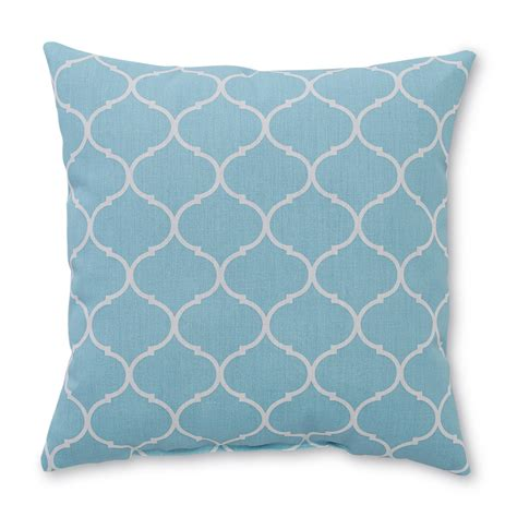 Moroccan Decorative Pillows by Essential Home Square Decorative Pillow Moroccan Print