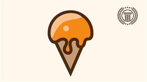 illustrator tutorial ice cream ice cream logo design illustrator how to make ice cream