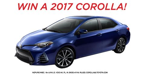 Marie Claire Sweepstakes 2017 - sweepstakes to win 2015 toyota autos post