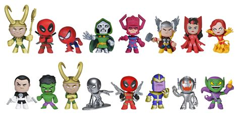 02030 Miniature Hellokitty Figure Hellokitty Kingdom more previews of the upcoming marvel mystery minis by