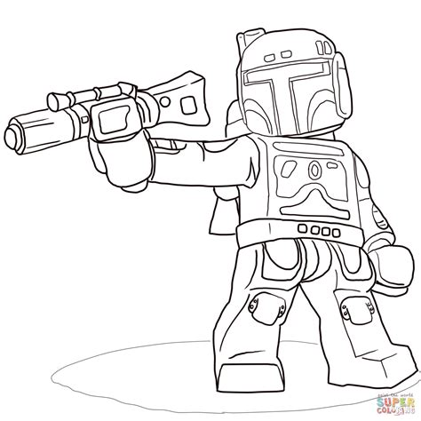lego star wars coloring coloring pages
