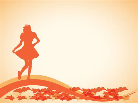 ppt themes dance autumn dance powerpoint templates beauty fashion