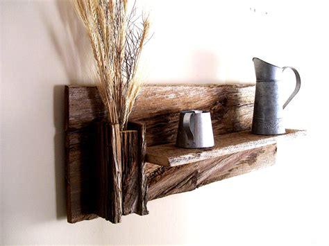 rustic wood wall shelves rustic reclaimed barn wood wall shelf beautiful woodwork reclaimed barn