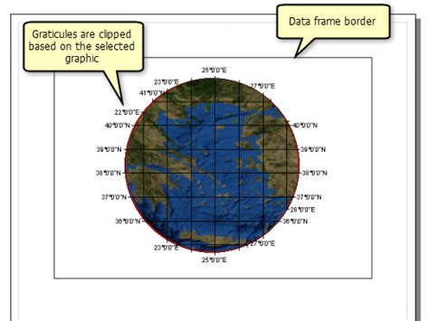 layout grid clippings clipping the data frame help arcgis for desktop