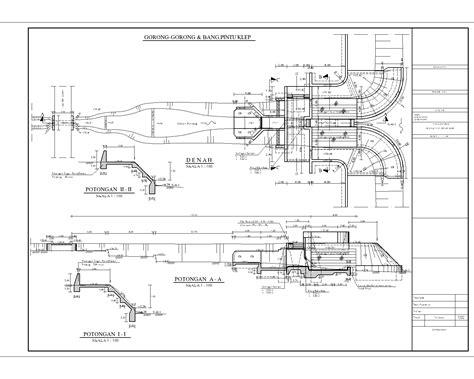 desain bangunan irigasi gambar desain bangunan air