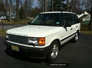 1999 land rover range rover with