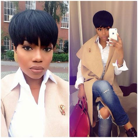 short pixie sew in xoxo is it the cut or makeup everything is fly