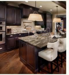 cabinets light granite kitchen new house