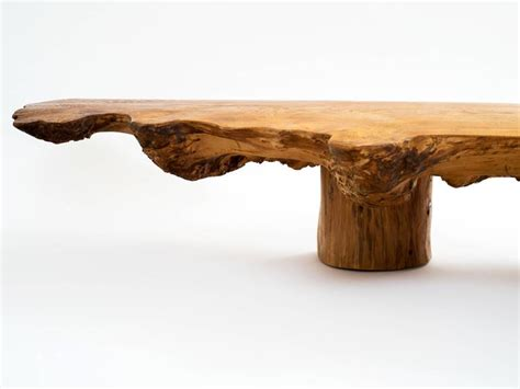 bench axe danish nine foot axe hewn freeform low table bench in