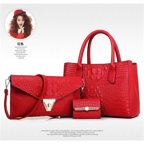 Tas Import Wanita Set Paket 3 In 1 Semipremium paket tas set 3 in 1 cluth wanita murah mewah