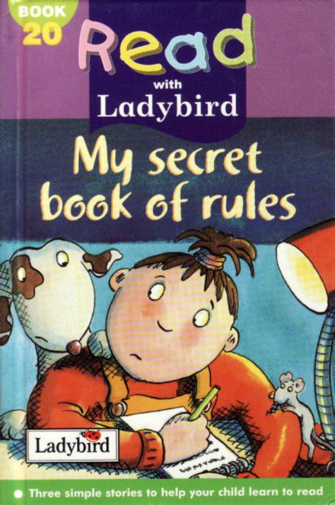 my secret book my secret book of read with ladybird book 20 gloss