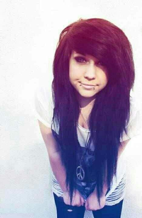 are emo hairstyles cool cool emo hairstyle sexy emo hair hairstyles pinterest