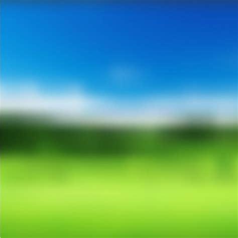Landscape Pictures Blurry Blurred Summer Landscape Background Vector Free