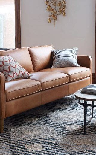 west elm hamilton leather sofa 2007 best images about narooma house on pinterest hedges
