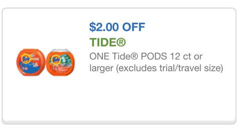tide printable coupons 2 00 off cupon printiable 2 00 tide pods cupones para comida