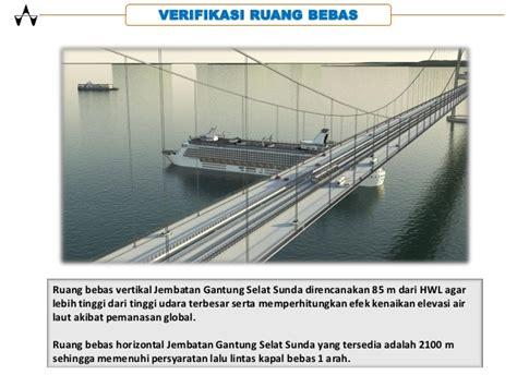 desain jembatan selat sunda spesifikasi teknis jembatan selat sunda