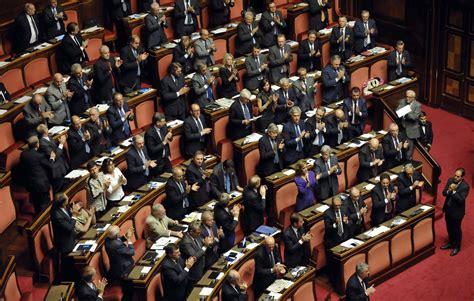 presidente della dei senatori la distribuzione dei senatori per regione