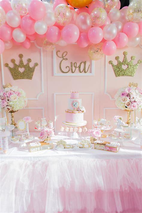 Birthday Decoration Ideas by Kara S Ideas Magical Princess Birthday Kara