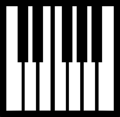 keyboard layout piano piano keyboard layout clipart best