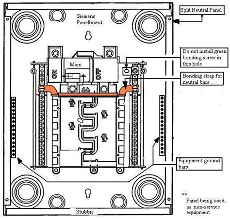 breaker wiring diagram electrical panel wiring