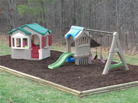small backyard playground step2 naturally playful welcome home playhouse reviews