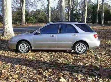subaru albury 2005 used subaru impreza gx wagon car sales albury wodonga