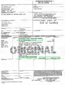 sle bill of lading template bill of lading clauses