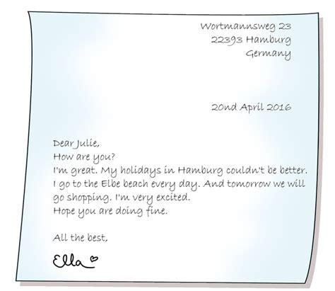 Offiziellen Brief Englisch Schreiben e mails briefe schreiben englisch klasse 5 6 kapiert de