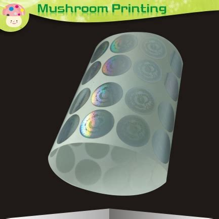 printable holographic stickers 10000pcs round diameter 10mm hologram sticker original