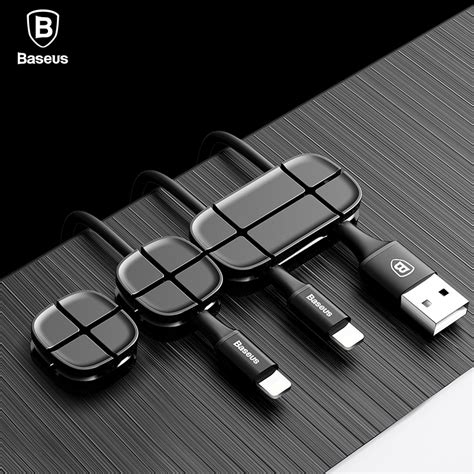 Cable Management Pemisah Kabel Cable Winder Organizer baseus cable winder silicone usb cable organizer