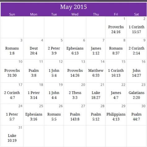 victory prayer calendar god