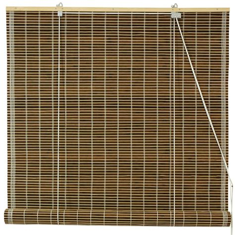 Bamboo Roll Up Blinds Burnt Bamboo Roll Up Blinds Olive