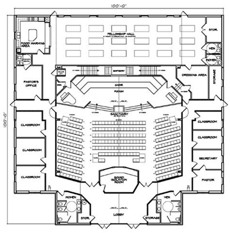 Church Floor Plans Free Free Small Church Floor Plans Studio Design Gallery Best Design