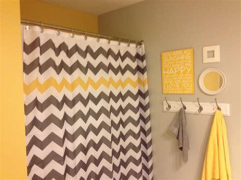chevron bathroom ideas yellow and grey quot you are my quot chevron bathroom valspar notre dame grey bath