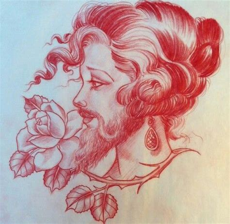 bearded lady tattoo jason minauro bearded the book of