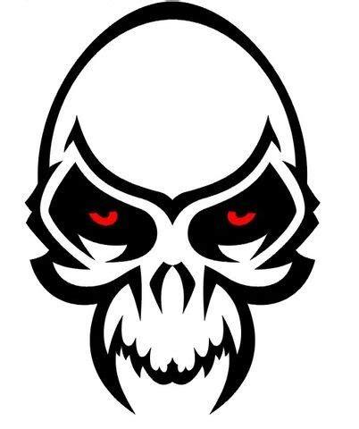 Kaos Rock Stencil skull tattoos skull designs tribal skulls kaos