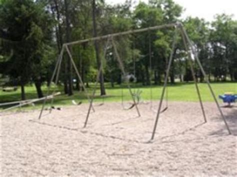 the swings of central park city of mosinee central park