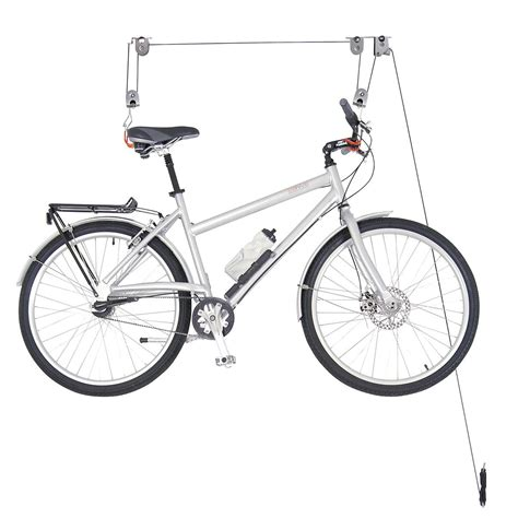 Ceiling Bike Mount by Ceiling Mount Bike Lift The Container Store