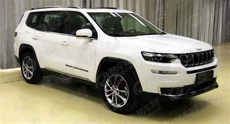 New 2018 Jeep Grand by New 2018 Jeep Grand Commander 7 Seater Leaks Ahead Of