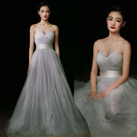 Bm1008r Black Gray Light Gray Redwine sweetheart the shoulder floor length white black wine light gray grey tulle prom
