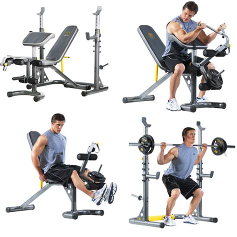 gold gym workout bench gold s gym xrs 20 olympic workout bench 159 reg 239 99