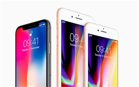 with iphone 8 and iphone x apple bets how do the iphone x and iphone 8 compare