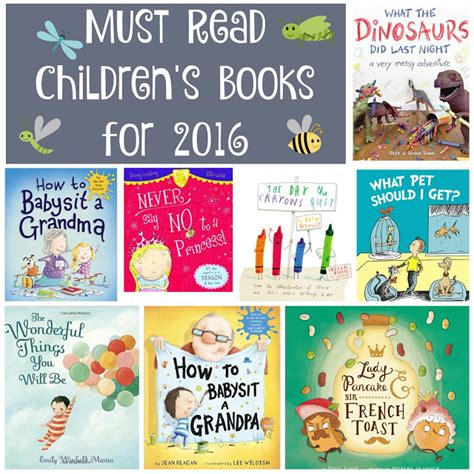 Things What I Consumed Books Must Read Children S Books For 2016 Building Our Story