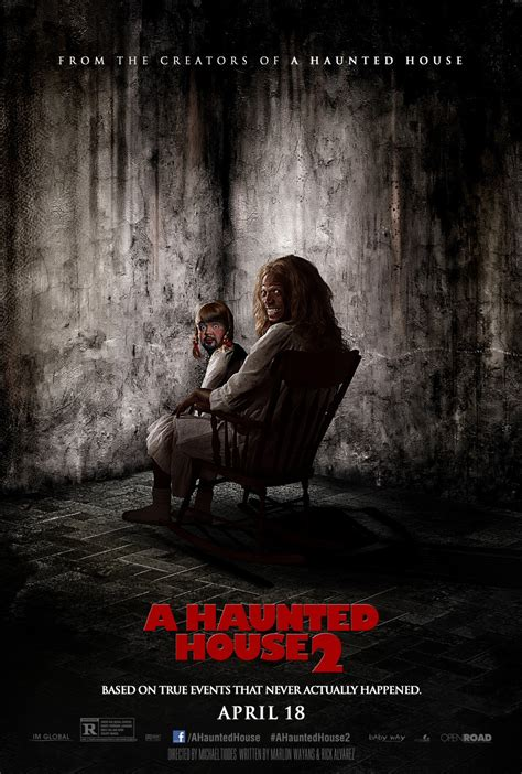 doll from haunted house 2 a haunted house 2 poster spoofs the conjuring again bloody disgusting
