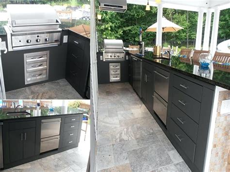 Outdoor Kitchen Cabinet Kits by Cabinet Outdoor Kitchen Ikea Outdoor Kitchen Cooktops