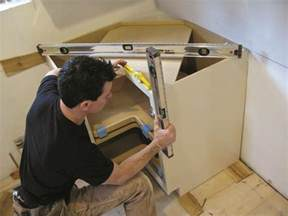 How To Install Kitchen Wall Cabinets How To Install Kitchen Cabinets Old House Online Old
