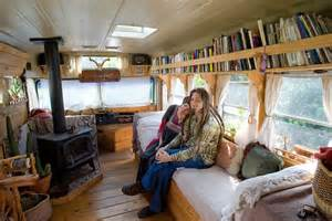 Customized Bookshelves by Bus Camper Interiors Car Tuning