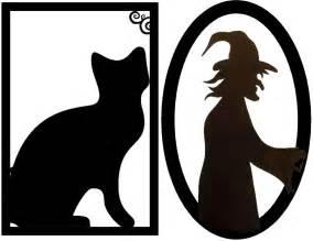 Free Halloween Decoration Printables Free Halloween Silhouettes Templates Free Printable