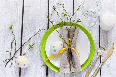 tavola di pasqua colori e decorazioni per la tavola di pasqua la cucina