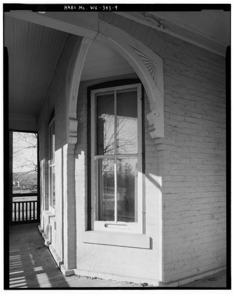 Racine County Court Records File South Front Window Detail Conrad Fox Jr House 3500 Rapids Court Mount